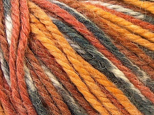 Fiber Content 40% Acrylic, 35% Wool, 25% Alpaca, White, Brand ICE, Grey, Gold, Brown, Yarn Thickness 5 Bulky  Chunky, Craft, Rug, fnt2-25421