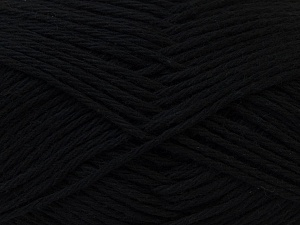 Baby cotton is a 100% premium giza cotton yarn exclusively made as a baby yarn. It is anti-bacterial and machine washable! Fiber Content 100% Giza Cotton, Brand ICE, Black, Yarn Thickness 3 Light  DK, Light, Worsted, fnt2-27890