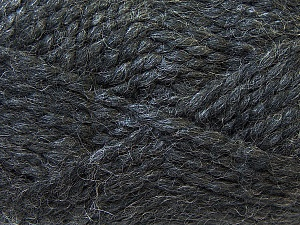 SuperBulky  Fiber Content 60% Acrylic, 30% Alpaca, 10% Wool, Brand ICE, Dark Grey, Yarn Thickness 6 SuperBulky  Bulky, Roving, fnt2-30824