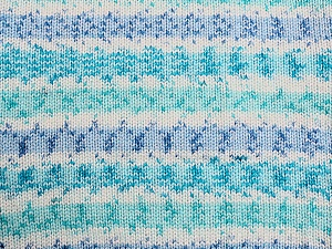 Fiber Content 100% Acrylic, White, Turquoise, Brand ICE, Blue, Yarn Thickness 2 Fine  Sport, Baby, fnt2-33693