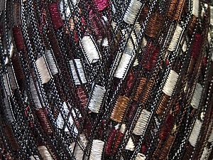 Trellis  Fiber Content 100% Polyester, White, Brand ICE, Burgundy, Brown, Yarn Thickness 5 Bulky  Chunky, Craft, Rug, fnt2-34028