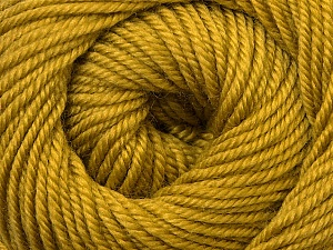 Fiber Content 100% Wool, Olive Green, Brand ICE, Yarn Thickness 3 Light  DK, Light, Worsted, fnt2-34716