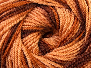 Fiber Content 100% Wool, Brand ICE, Brown Shades, Yarn Thickness 3 Light  DK, Light, Worsted, fnt2-34728