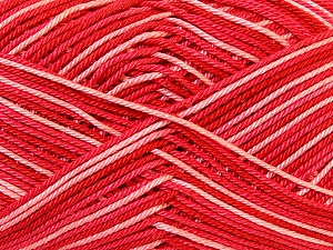 Ne: 8/4. Nm 14/4 Fiber Content 100% Mercerised Cotton, White, Salmon, Red, Brand Ice Yarns, Yarn Thickness 2 Fine  Sport, Baby, fnt2-34760