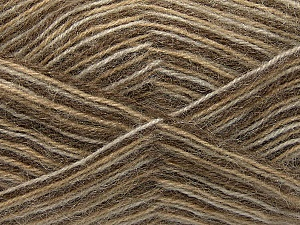 Fiber Content 70% Angora, 30% Acrylic, White, Brand ICE, Camel, Yarn Thickness 2 Fine  Sport, Baby, fnt2-35078