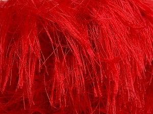 Fiber Content 100% Polyamide, Tomato Red, Brand KUKA, Yarn Thickness 5 Bulky  Chunky, Craft, Rug, fnt2-35178