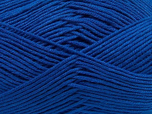 Fiber Content 100% Antibacterial Dralon, Royal Blue, Brand ICE, Yarn Thickness 2 Fine  Sport, Baby, fnt2-35236