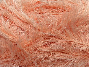 Fiber Content 100% Polyester, White, Light Salmon, Brand ICE, Yarn Thickness 5 Bulky  Chunky, Craft, Rug, fnt2-36736