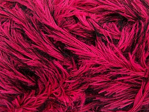 Fiber Content 100% Polyester, Pink, Brand ICE, Black, Yarn Thickness 5 Bulky  Chunky, Craft, Rug, fnt2-36741