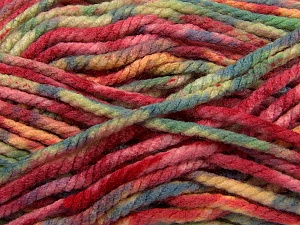 Fiber Content 100% Acrylic, Yellow, Red, Brand Ice Yarns, Green, Blue, Yarn Thickness 6 SuperBulky  Bulky, Roving, fnt2-36974