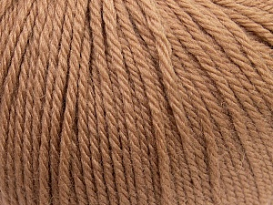 Fiber Content 100% Wool, Brand ICE, Camel, Yarn Thickness 4 Medium  Worsted, Afghan, Aran, fnt2-38000
