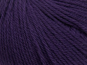 Fiber Content 100% Wool, Purple, Brand ICE, Yarn Thickness 4 Medium  Worsted, Afghan, Aran, fnt2-38012