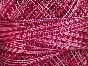 Fiber Content 100% Micro Fiber, Pink Shades, Orchid, Brand ICE, Yarn Thickness 0 Lace  Fingering Crochet Thread, fnt2-40207
