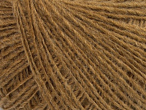 Fiber Content 70% Acrylic, 30% Wool, Light Brown, Brand ICE, Yarn Thickness 2 Fine  Sport, Baby, fnt2-40339