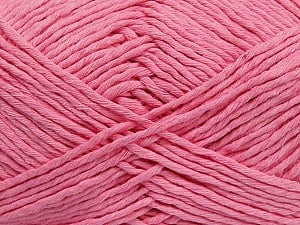 Please note that the yarn weight and the ball length may vary from one color to another for this yarn. Fiber Content 100% Cotton, Pink, Brand ICE, Yarn Thickness 3 Light  DK, Light, Worsted, fnt2-40918