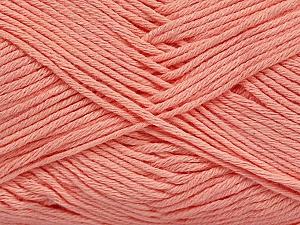 Fiber Content 50% Bamboo, 50% Cotton, Light Salmon, Brand ICE, Yarn Thickness 2 Fine  Sport, Baby, fnt2-41443