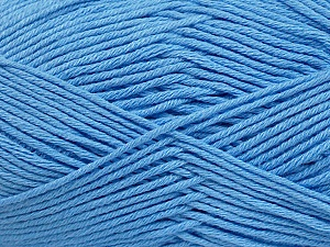 Fiber Content 50% Bamboo, 50% Cotton, Light Blue, Brand ICE, Yarn Thickness 2 Fine  Sport, Baby, fnt2-41448