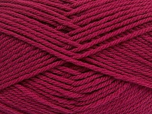 Fiber Content 50% Polyamide, 50% Acrylic, Brand ICE, Burgundy, Yarn Thickness 3 Light  DK, Light, Worsted, fnt2-42376