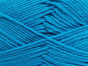 Fiber Content 50% Polyamide, 50% Acrylic, Turquoise, Brand ICE, Yarn Thickness 3 Light  DK, Light, Worsted, fnt2-42380