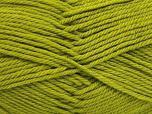 Fiber Content 50% Polyamide, 50% Acrylic, Brand ICE, Green, Yarn Thickness 3 Light  DK, Light, Worsted, fnt2-42382