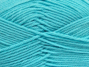 Fiber Content 50% Polyamide, 50% Acrylic, Light Turquoise, Brand ICE, Yarn Thickness 3 Light  DK, Light, Worsted, fnt2-42384