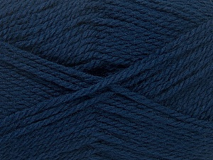 Fiber Content 50% Acrylic, 30% Wool, 20% Polyamide, Navy, Brand ICE, Yarn Thickness 2 Fine  Sport, Baby, fnt2-42420