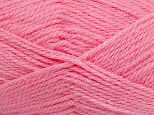 Fiber Content 50% Acrylic, 30% Wool, 20% Polyamide, Pink, Brand ICE, Yarn Thickness 2 Fine  Sport, Baby, fnt2-42427