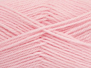 Fiber Content 50% Acrylic, 30% Wool, 20% Polyamide, Light Pink, Brand ICE, Yarn Thickness 2 Fine  Sport, Baby, fnt2-42428