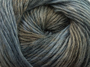 Fiber Content 70% Dralon, 30% Wool, Brand ICE, Grey Shades, Camel, Yarn Thickness 4 Medium  Worsted, Afghan, Aran, fnt2-42696