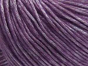 Fiber Content 50% Acrylic, 50% Polyamide, Lavender, Brand ICE, Yarn Thickness 4 Medium  Worsted, Afghan, Aran, fnt2-42751