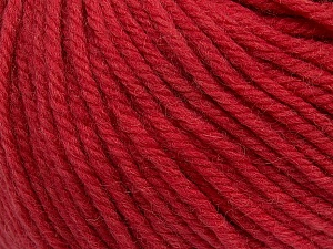 SUPERWASH WOOL BULKY is a bulky weight 100% superwash wool yarn. Perfect stitch definition, and a soft-but-sturdy finished fabric. Projects knit and crocheted in SUPERWASH WOOL BULKY are machine washable! Lay flat to dry. Fiber Content 100% Superwash Wool, Red, Brand ICE, Yarn Thickness 5 Bulky  Chunky, Craft, Rug, fnt2-42827
