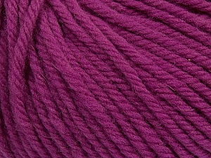SUPERWASH WOOL BULKY is a bulky weight 100% superwash wool yarn. Perfect stitch definition, and a soft-but-sturdy finished fabric. Projects knit and crocheted in SUPERWASH WOOL BULKY are machine washable! Lay flat to dry. Fiber Content 100% Superwash Wool, Orchid, Brand Ice Yarns, Yarn Thickness 5 Bulky  Chunky, Craft, Rug, fnt2-42843