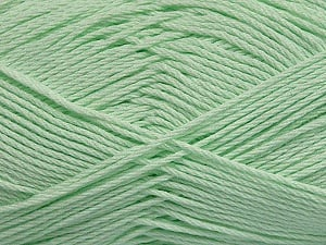 Fiber Content 50% Viscose, 50% Bamboo, Light Green, Brand ICE, Yarn Thickness 2 Fine  Sport, Baby, fnt2-43135