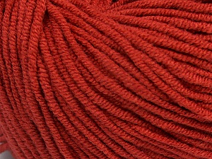 Fiber Content 50% Acrylic, 50% Cotton, Marsala Red, Brand ICE, Yarn Thickness 3 Light  DK, Light, Worsted, fnt2-43833