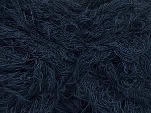 Fiber Content 6% Polyamide, 46% Acrylic, 29% Wool, 19% Viscose, Navy, Brand ICE, Yarn Thickness 6 SuperBulky  Bulky, Roving, fnt2-44313