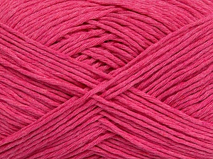 Please note that the yarn weight and the ball length may vary from one color to another for this yarn. Fiber Content 100% Cotton, Brand ICE, Candy Pink, Yarn Thickness 3 Light  DK, Light, Worsted, fnt2-44865