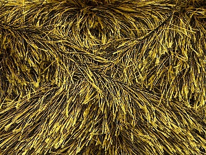 Fiber Content 100% Polyester, Yellow, Brand ICE, Black, Yarn Thickness 5 Bulky  Chunky, Craft, Rug, fnt2-44923