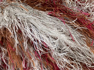Fiber Content 100% Polyester, Light Grey, Brand ICE, Burgundy, Brown, Yarn Thickness 6 SuperBulky  Bulky, Roving, fnt2-45067