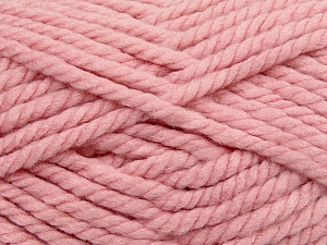 Fiber Content 55% Acrylic, 45% Wool, Light Pink, Brand ICE, Yarn Thickness 6 SuperBulky  Bulky, Roving, fnt2-45133