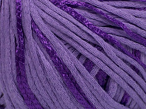 Fiber Content 79% Cotton, 21% Viscose, Lilac, Brand Ice Yarns, Yarn Thickness 3 Light  DK, Light, Worsted, fnt2-45203