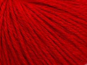 Fiber Content 40% Acrylic, 40% Merino Wool, 20% Polyamide, Red, Brand ICE, Yarn Thickness 3 Light  DK, Light, Worsted, fnt2-45810