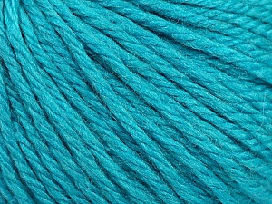 Fiber Content 40% Acrylic, 40% Merino Wool, 20% Polyamide, Turquoise, Brand ICE, Yarn Thickness 3 Light  DK, Light, Worsted, fnt2-45820