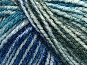 Fiber Content 75% Acrylic, 25% Wool, White, Turquoise, Purple, Brand ICE, Grey, Blue, Yarn Thickness 5 Bulky  Chunky, Craft, Rug, fnt2-46225