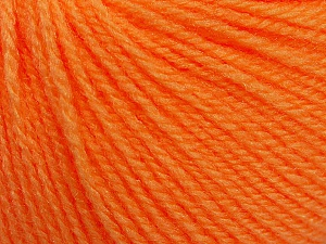 Fiber Content 100% Acrylic, Light Orange, Brand Ice Yarns, Yarn Thickness 2 Fine  Sport, Baby, fnt2-46592