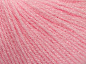 Fiber Content 100% Acrylic, Light Pink, Brand Ice Yarns, Yarn Thickness 2 Fine  Sport, Baby, fnt2-46606