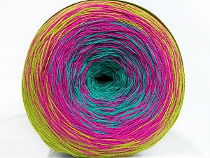 Fiber Content 50% Cotton, 50% Acrylic, Turquoise, Olive Green, Brand ICE, Fuchsia, Yarn Thickness 2 Fine  Sport, Baby, fnt2-46655