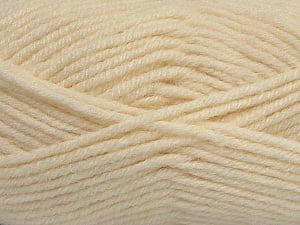 Fiber Content 50% Acrylic, 25% Wool, 25% Alpaca, Brand ICE, Cream, Yarn Thickness 5 Bulky  Chunky, Craft, Rug, fnt2-47137