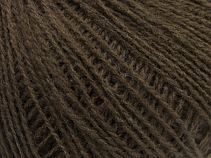 Fiber Content 70% Acrylic, 30% Wool, Brand ICE, Dark Brown, Yarn Thickness 2 Fine  Sport, Baby, fnt2-47262