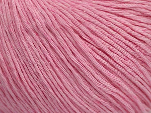 Fiber Content 100% Cotton, Light Pink, Brand ICE, Yarn Thickness 1 SuperFine  Sock, Fingering, Baby, fnt2-47522
