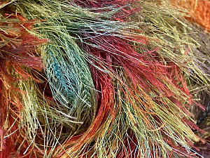 Fiber Content 100% Polyester, Rainbow, Brand ICE, Yarn Thickness 6 SuperBulky  Bulky, Roving, fnt2-48241